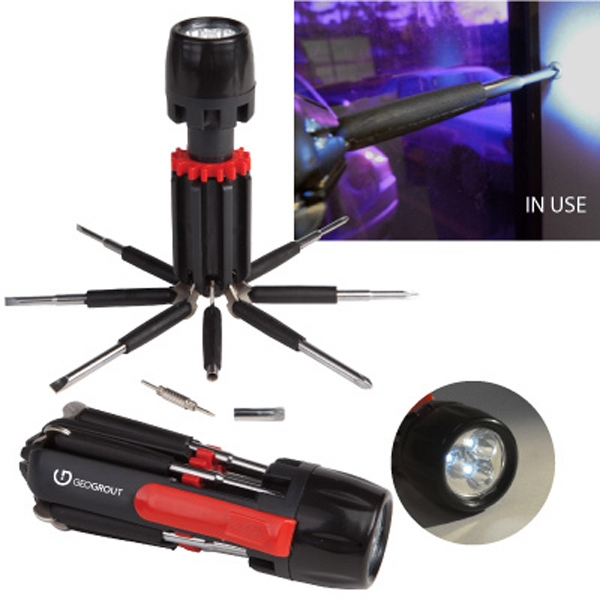 The Handyman - 3 Led Flashlight And Retractable Multi Tool Photo