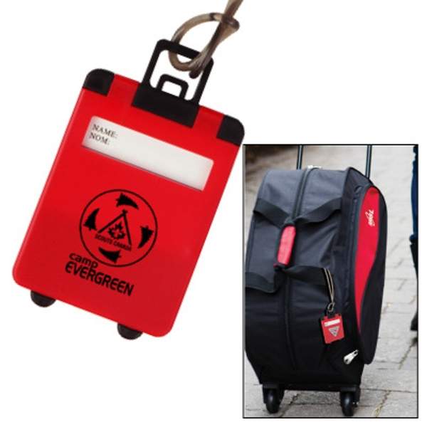 The Smart Luggage - Baggage Identifying Tag For Bus, Train And Plane Photo