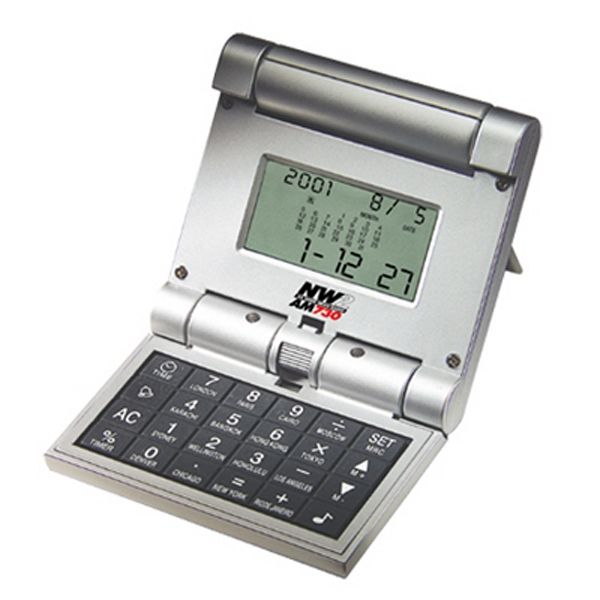 The Tri-fold - Auto Tri-fold World Timer With Calculator And Calendar Photo