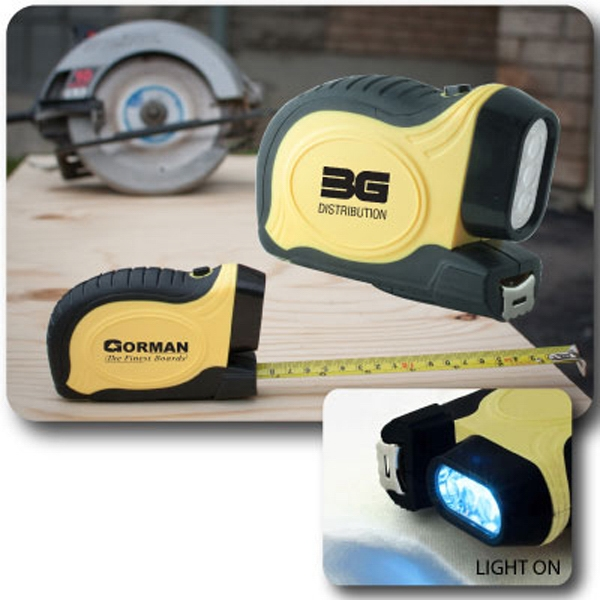 The Mighty Tough - All Purpose Rugged Tape Measure With Belt Clip Photo