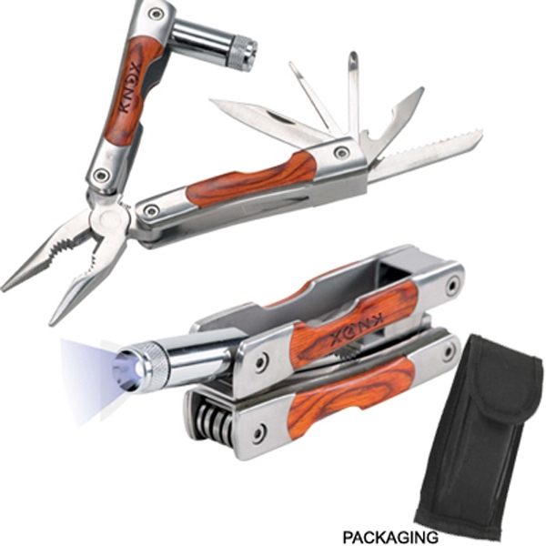 The Eternity - Ten Function Stainless Steel Multi-tool Photo