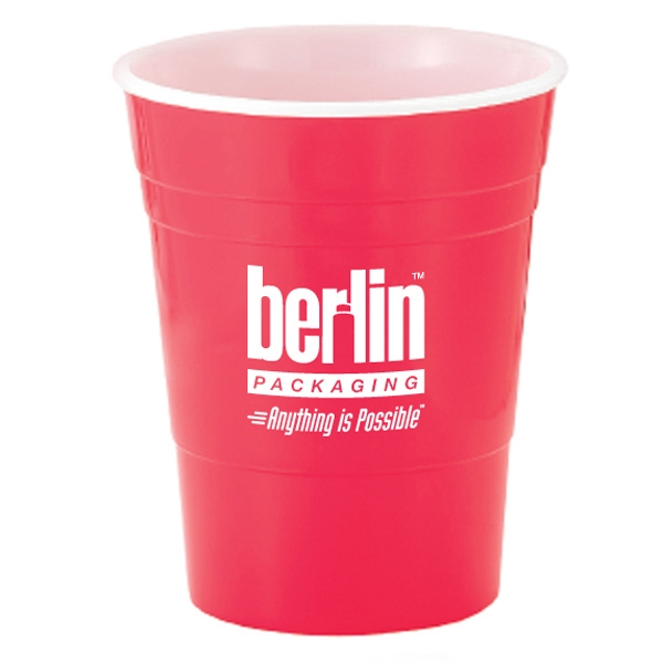 Reusable Plastic Party Cup, 16 Oz Photo