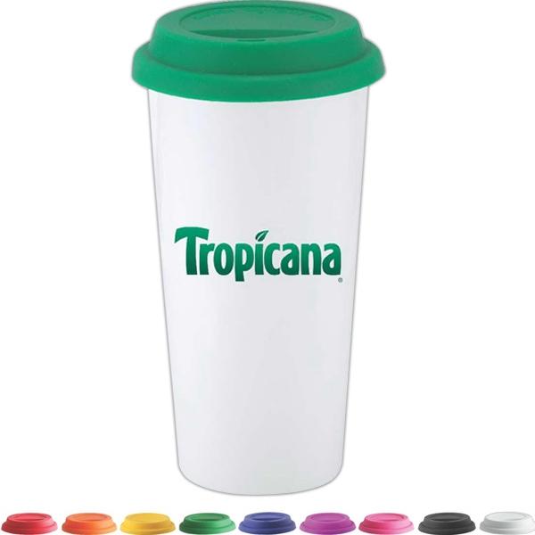 I Am NOT A Big Plastic Cup 16 oz Ceramic Cup