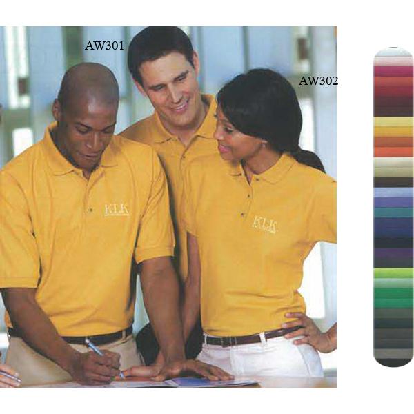 Ladies' Poly/Cotton Pique Knit Silk Touch(TM) Sport Shirt Rx