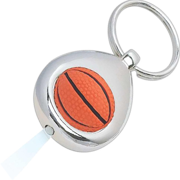 Basketball - Led Lighted Keytag Photo