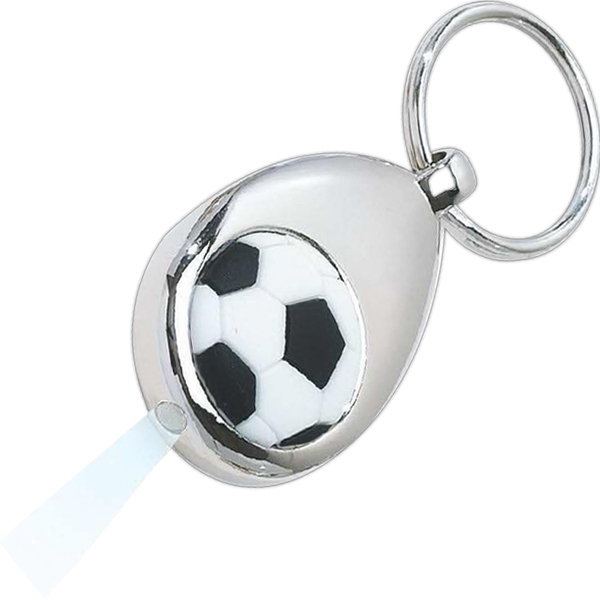 Soccer Ball - Led Lighted Keytag Photo