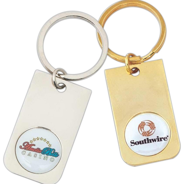 Classic Key Tag With Full Color Insert Photo