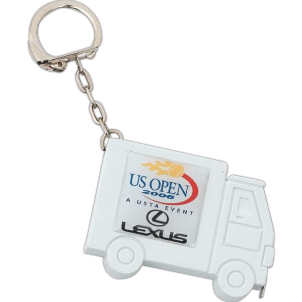 Key Holder With Tape Measure In A Truck Shape Case Photo