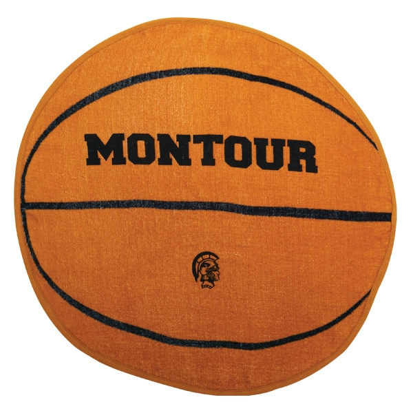 3 Working Days - Printed - Basketball - Sport Ball Towel With Stock Designs Photo