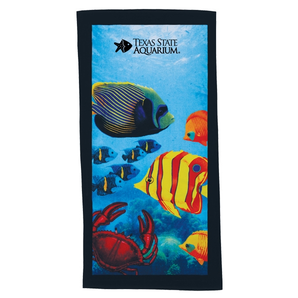 "7 Working Days - Stock Design Fiber Reactive Beach Towels, 30"" X 60"", 100% Cotton Photo"