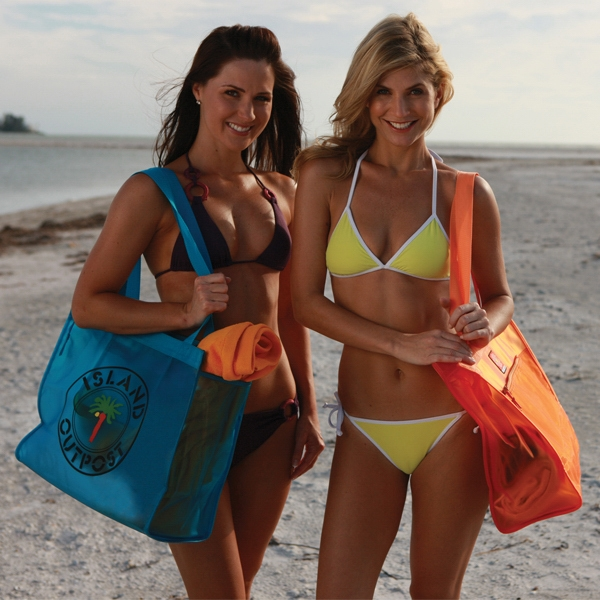 Sol Gear Collection - Printed - Premium Pvc Plastic Beach Bag Photo