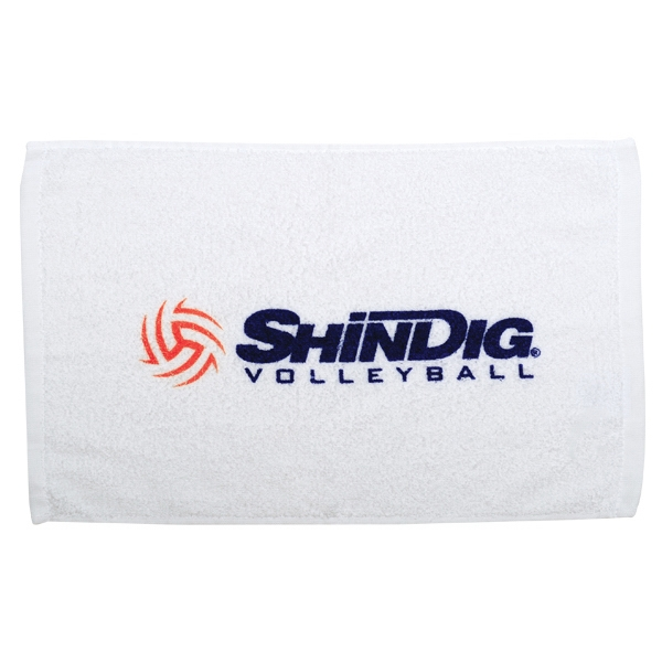 "7 Working Days - Cotton Terry Loop Fingertip Sport/stadium Hemmed Towel, 11"" X 17"" Photo"