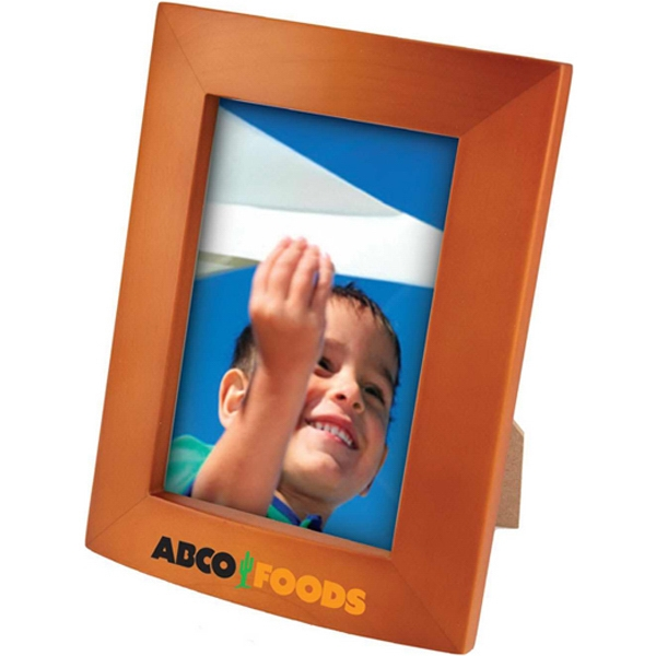 3 1/2-inch x 5-inch Photo Frame - Maple wood photo frame with velveteen easel.