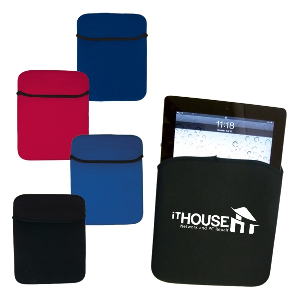 Neoprene Foam Case For Tablets With Flap Tab Closure Photo