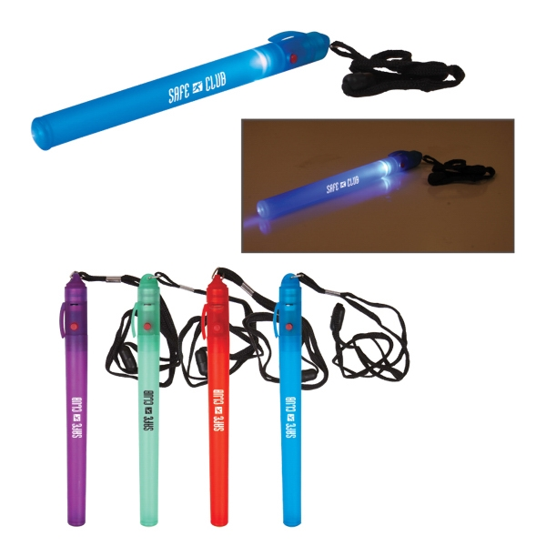 Safety Wand With Breakaway Lanyard And 3 Light Modes Photo