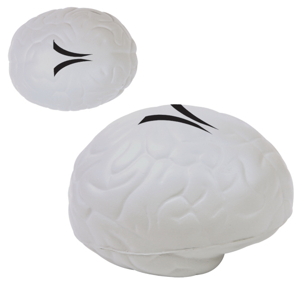 Brain Shaped Polyurethane Foam Stress Toy Photo