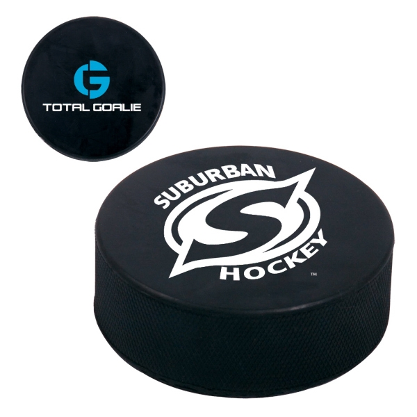 Rubber Hockey Puck Just Like The Pros Use Photo