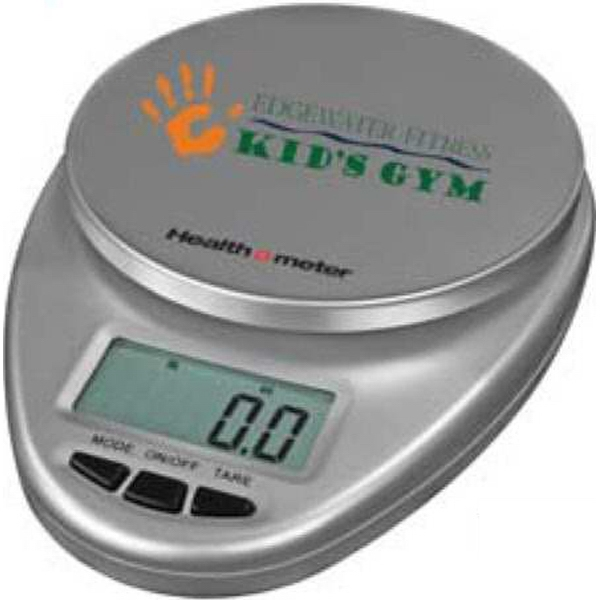 Health O Meter (r) - Pad Print - Silver - Multi-functional Kitchen Scale. Capacity: 11 Lbs Or 5000 Grams Photo