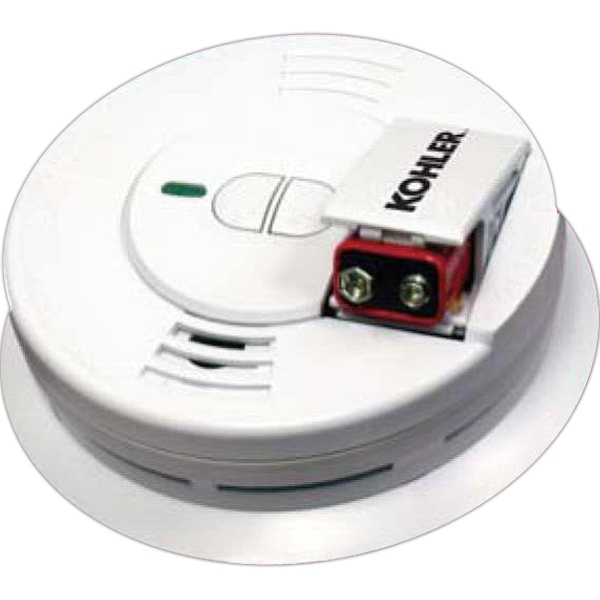 Decal - Smoke Alarm, Battery Operated, Adjustable Mounting Bracket Photo