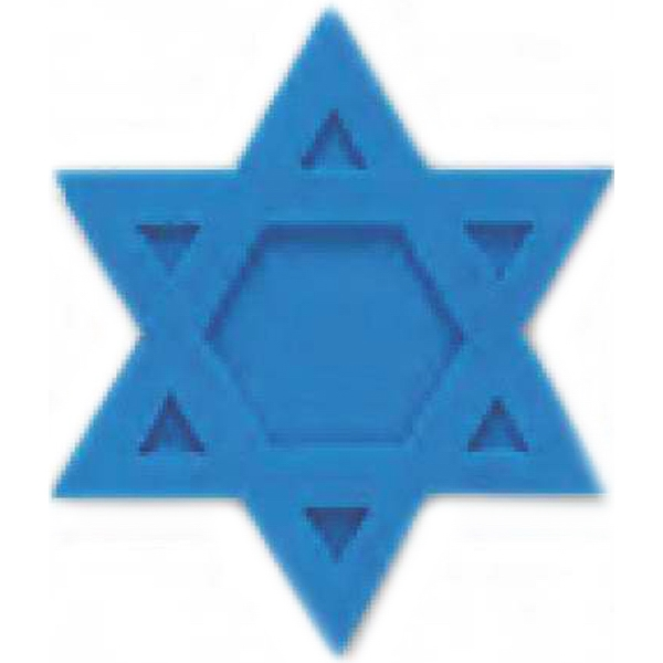 Eraser Shaped Like The Star Of David Photo
