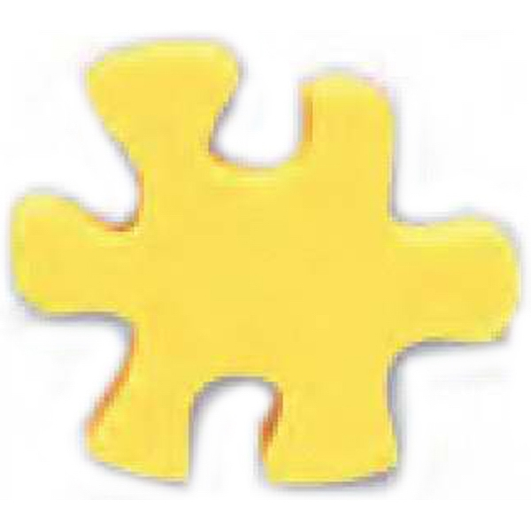 Puzzle Piece Shaped Eraser Photo