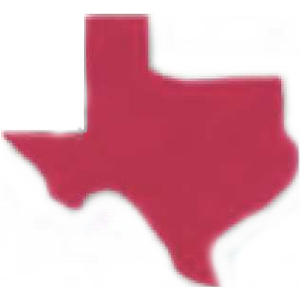 Texas Shaped Eraser Photo
