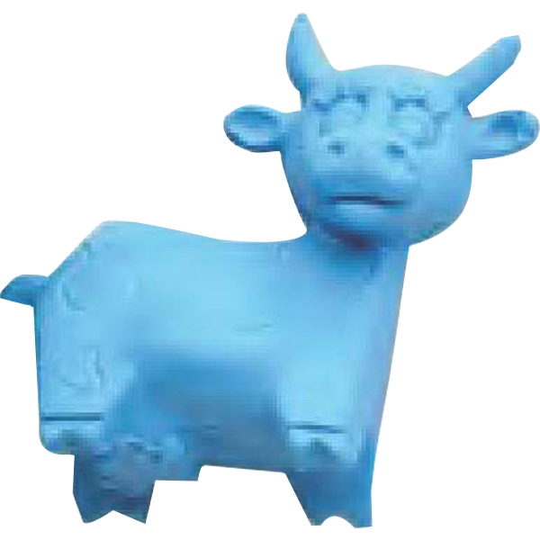 Moo - Molded Moo Cow Shape Eraser Photo