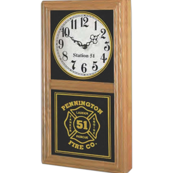 "Chesapeake Vertical/horizontal Wall Clock, 9"" H X 16 1/2"" W Photo"
