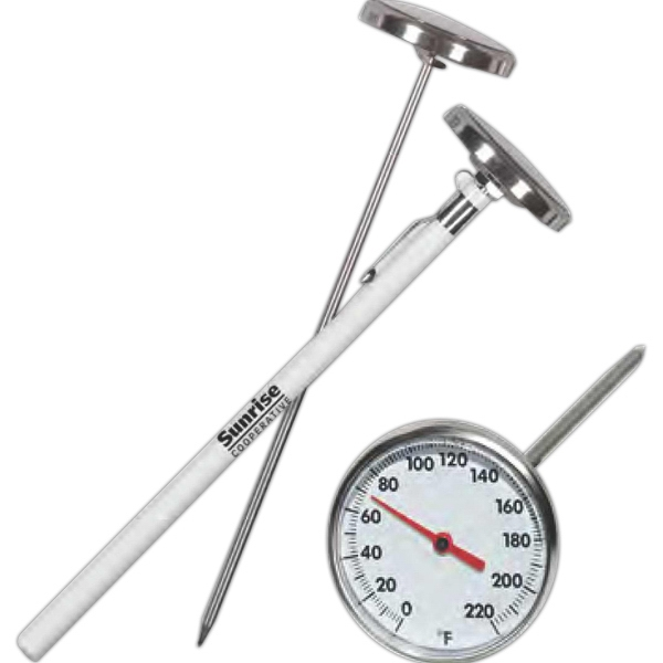 "Stainless Steel Pocket Thermometer, 7"" Long Photo"