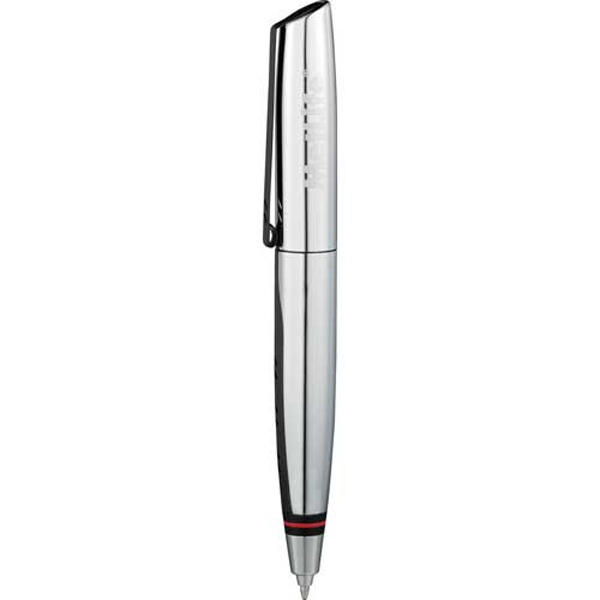 Elleven (tm) - Memory Pen Features High Shine Chrome Barrel With Signature Brand Detailing; 4gb Photo