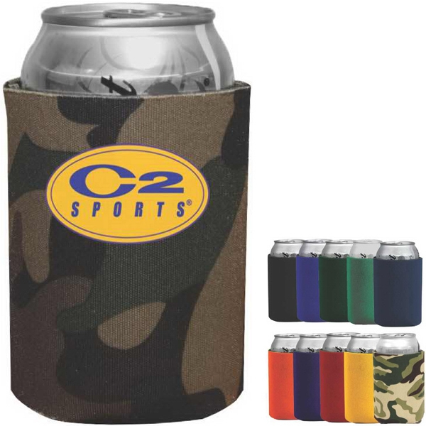 Can Cooler Helps Keeps Can Beverages Cold Photo