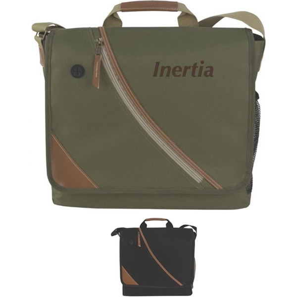 Inertia - Messenger Bag Made Of 600 Denier Nylon With Imitation Leather Trim Photo