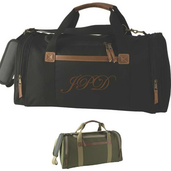 Saturn - Duffel Bag Made Of 600 Denier/pvc With Imitation Leather Trim Photo