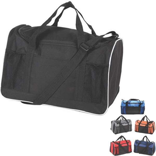 Basic Compact Duffle Bag Made Of 600 Denier/pvc Photo
