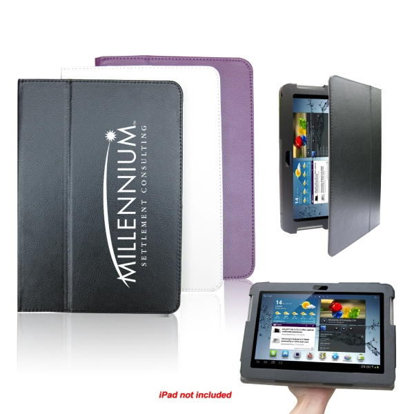 Stand Folio Leather Case For Samsung Galaxy Tab 10.1 P5100 P5110 Photo