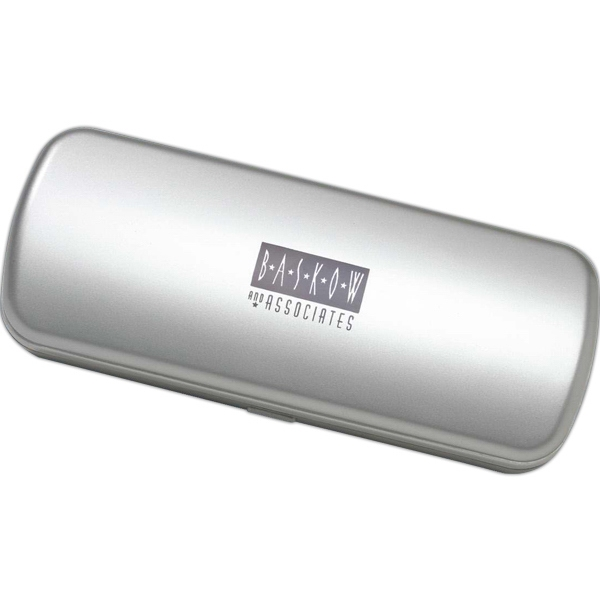 Hard Silver Amenity Container Photo