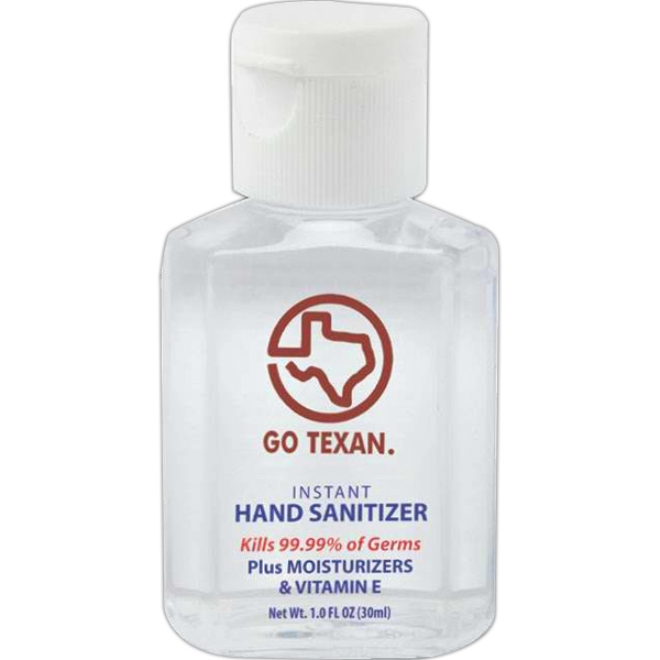 Healthy Hands - Hand Sanitizer With Moisturizer And Vitamin E, 1 Oz. 62% Alcohol Photo