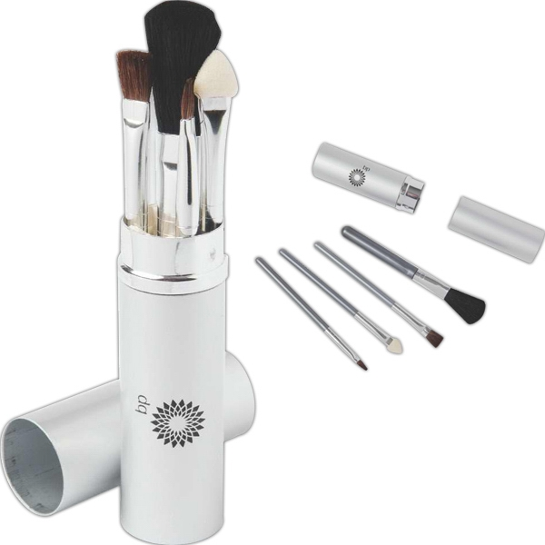 Four Piece Make-up Brush Kit Photo