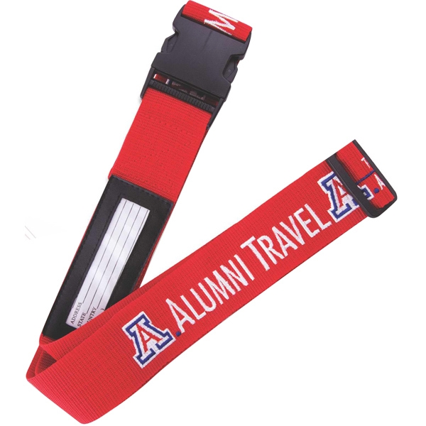 Silkscreen - Custom Color Polypropylene Luggage Strap Photo