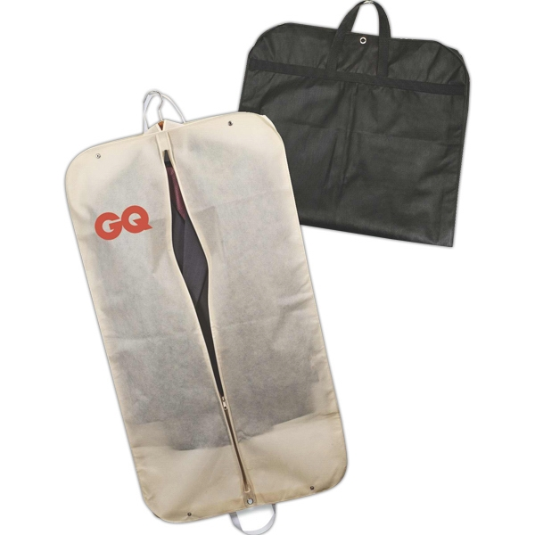 Garment Bag Made With Non-woven Polypropylene Photo