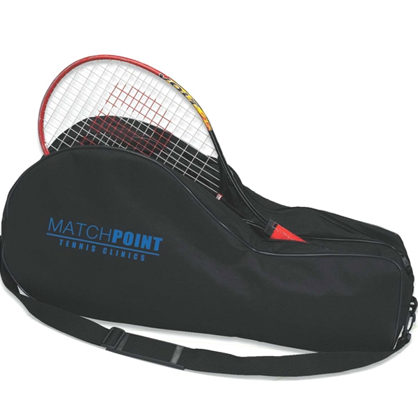 Nylon Tennis Bag Holds Up To 4 Rackets Photo