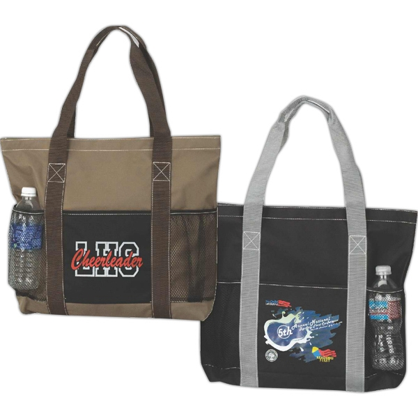 Traveler Tote, Made Of 600 Denier Nylon With Pvc Backing Photo