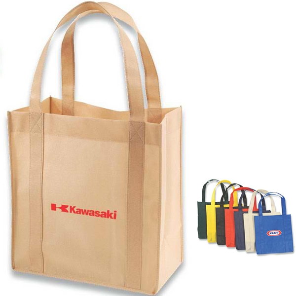 Shopper Tote Bag Made With 85 Gsm Non-woven Polypropylene Photo