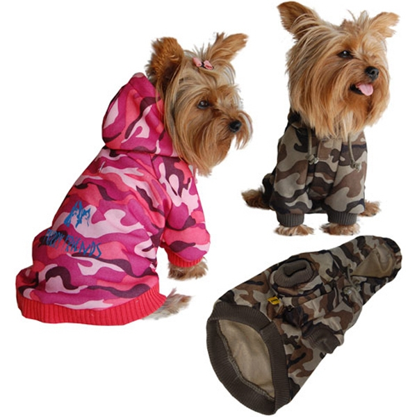 Dog Camo Hoody Sweatshirt Photo