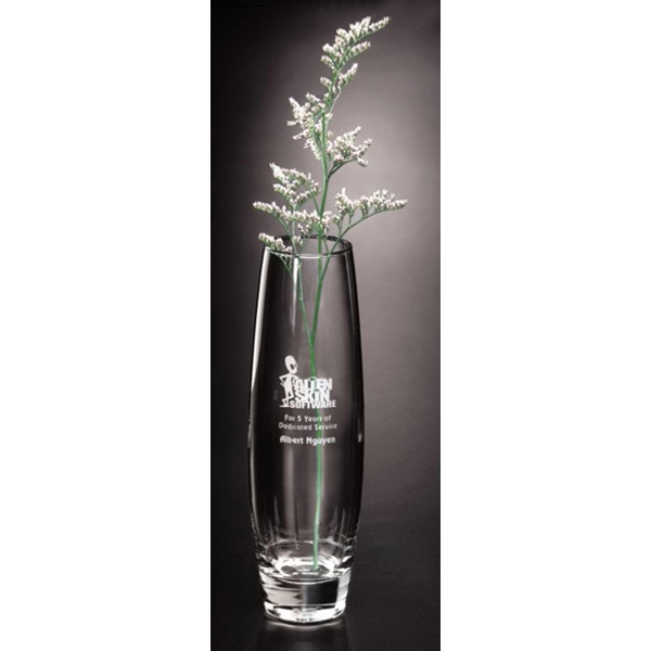"Elite - Glass Bud Vase, 1 3/4"" Dia Photo"