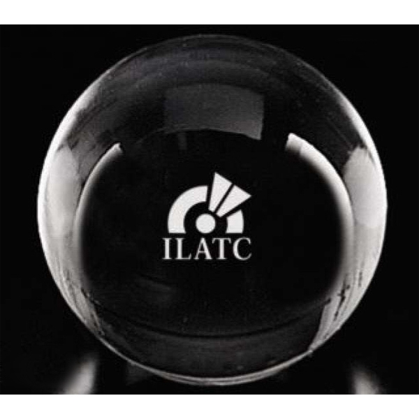 Distinctive Gift Gallery Gazing Ball - Gazing Ball Optical Crystal Paperweight Photo