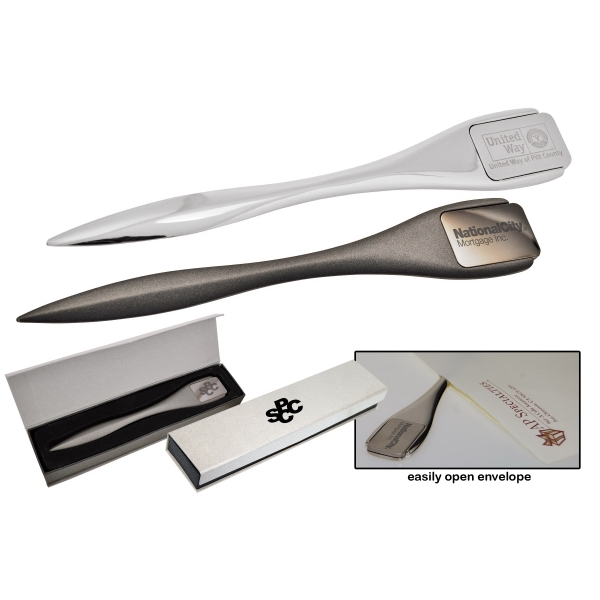 7 Working Days - Classic Metal Letter Opener. Laser Engraving And Gift Box Included Photo