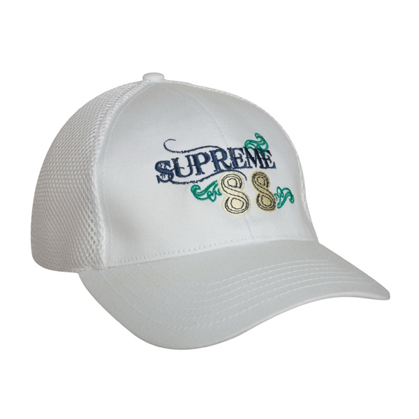 4455 Series - White - Structured, Low Profile, 6 Panel Baseball Cap Photo
