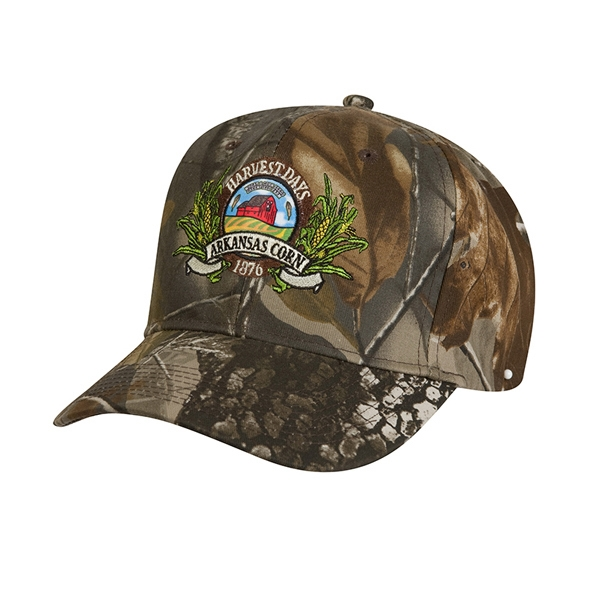 6100 Series;real Tree (r) - High Profile, Camouflage, Structured, 6-panel Baseball Cap Photo