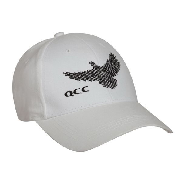 9155 Series - White - Structured, Low Profile, Light Weight 100% Cotton, 6-panel Fashion Cap Photo